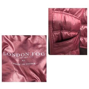 London Fog Jackets & Coats - 🍑SOLD London Fog Puffer Sweater Jacket Quilted